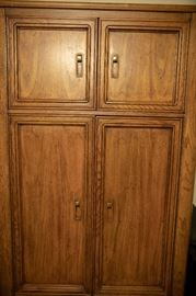 Complete bedroom suite featuring this armoire