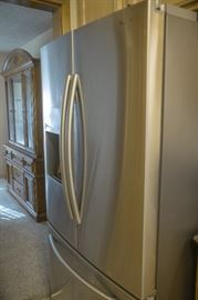 Late model Samsung stainless refrigerator