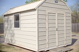 8' X 12' Portable building from Hawk Portable Buildings