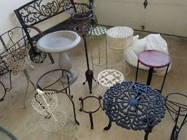 Garden accent items