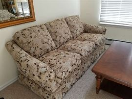 Sofa set and Bassett Coffee table