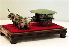 Asian Horse Drawn Cart