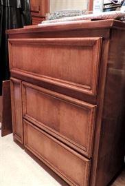 Custom Cabinet with Deep Drawers