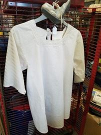 Antique baby clothes and more