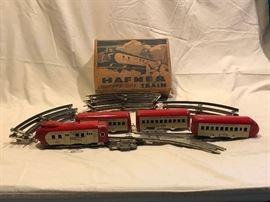 Vintage Hafner Streamline Train