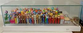 LARGE PEZ DISPLAY