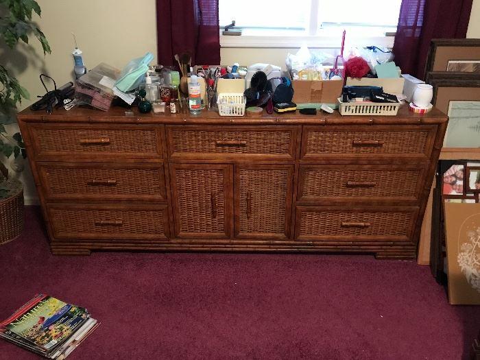 South Pacific Dresser, part of a five piece set!  Beautiful pieces, quality!