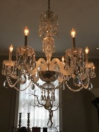 The most beautiful crystal chandelier ever! $17,000