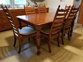 Keller Solid Oak dining table