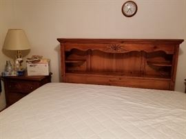 solid wood Queen Headboard