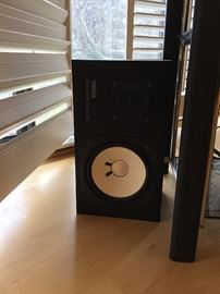 Pair of vintage Yamaha studio monitors