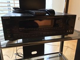 Sony receiver