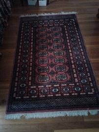 1 of many rugs.  They spent a fortune on beautiful rugs