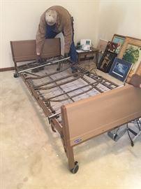 2 Hospital beds w mattresses