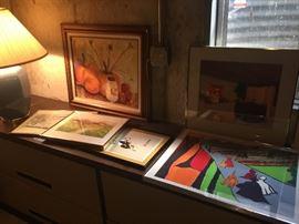 We also have desks file cabinets, credenza