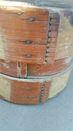 antique bamboo box