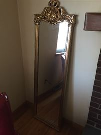 gold slimming mirror
