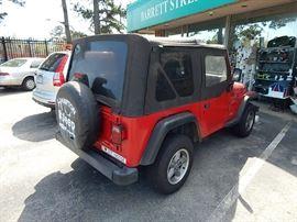 Jeep Wrangler, new VA state inspection, 95,000 miles