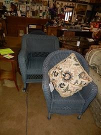 wicker, bedroom sets, dining sets, sofas, leather recliners, housewares, antiques, silver, collectibles