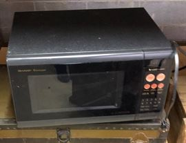 Sharp Microwave oven, old but good.