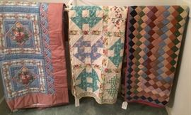 Additional Years Past Quilts Hand Made by the Owners  Grandmother