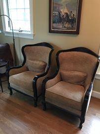 Arhaus Catania chairs