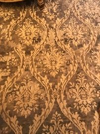 """10 x 14 area rug and 2'6"""" x 10 runner rug from McDhurries"""
