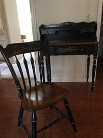 Vintage Ethan Allen desk and chair