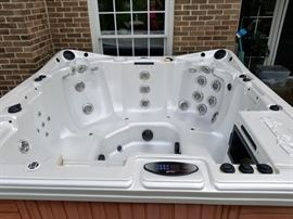 WORKING HOT TUB
