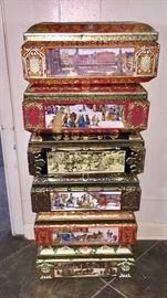 German tin boxes