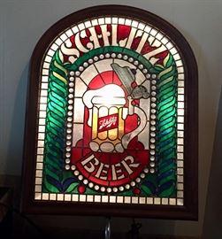 Light up Schlitz sign