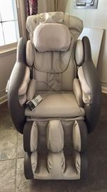 Brookstone full body massage chair