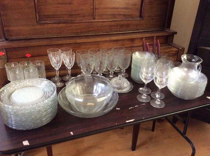 Princess House Dinnerware & Serving Pieces