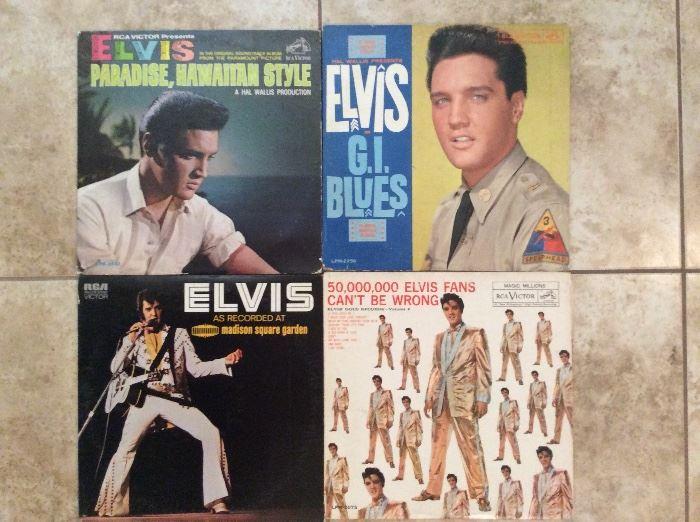 Elvis LP's