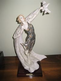 G. Armani figurine