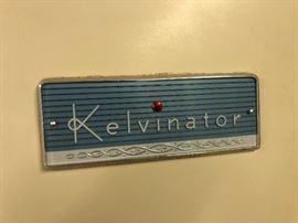1953 Vintage Electrolux Kelvinator refrigerator.