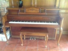 Story and Clark piano, recently tuned, priced at $1000.