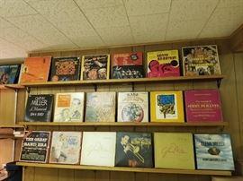 big band display albums