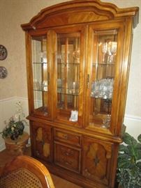 Stanley china cabinet-lighted