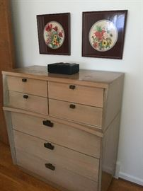 Mid-century tall dresser (also available:  dresser, nightstand and bed)