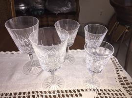 Waterford Glasses - Lismore pattern