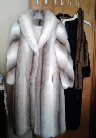 Saxton faux fur coat