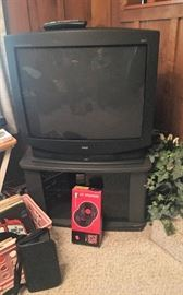 "RCA 32"" TV and stand"