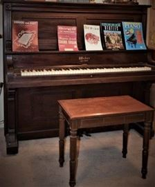 1900 dated Weber Upright Piano
