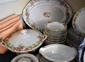 Berkshire Viceroy China Karen pattern