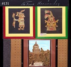 Art Hernandez Arturo Mexico Straw Art Three