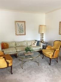 Henredon sofa & chairs