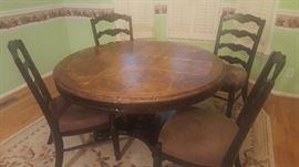 Ashley Dining Room Table & 4 Chiars