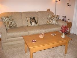 Like new sofa and coffee table