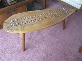 HAND MADE CRIBBAGE TABLE